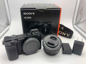 Kit Sony A6300 + Lente 16-50 Oss