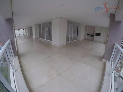 Imagem 1 de 30 de Apartamento Com 3 Dormitórios À Venda, 394 M² Por R$ 3.700.000,00 - Jardim Anália Franco - São Paulo/sp - Ap0994