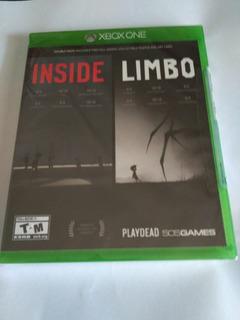 Inside / Limbo Xbox One Fisico Nuevo Sellado