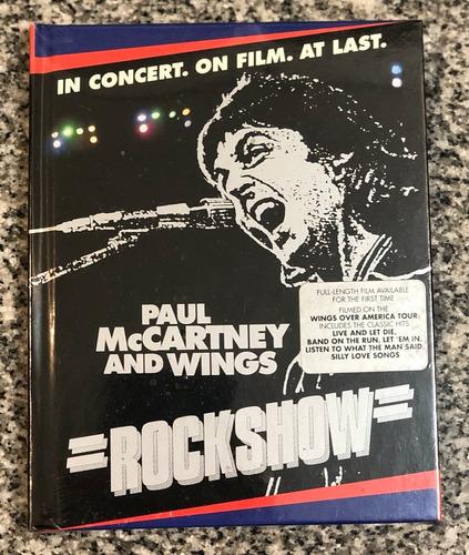 Imagen 1 de 2 de Paul Mccartney And Wings Rockshow Blu-ray