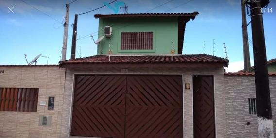 Casa A Venda No Bairro Balneário Itaoca Em Mongaguá - Sp. - 257-1