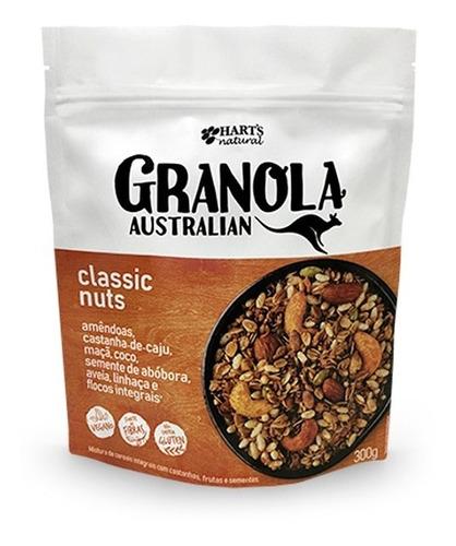 Granola Australia Classic Nuts Hart´s 300g