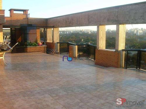Linda Cobertura 4 Sts 4 Vgs Venda, 620 M² Por R$ 2.960.000 - Butantã - São Paulo/sp - Co0101