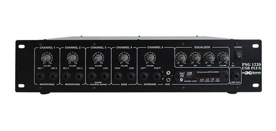 Cabeçote Amplificador Multiuso Psg 1220 Usb Plus Vox Storm