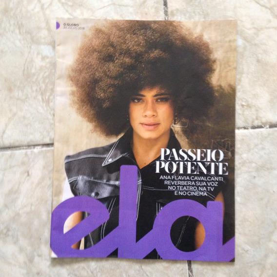 Revista Ela 22/08/2018 Ana Flavia Cavalcanti Voz E Teatro