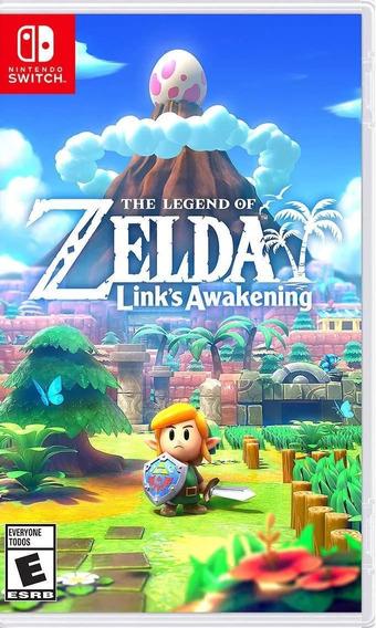The Legend Of Zelda Links Awakening Mídia Física Lacrado