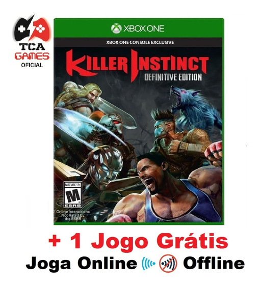 Killer Instinct Ed. Definitiva Xbox One Mídia Digital