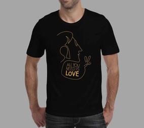 Camiseta John Lennon - Preta