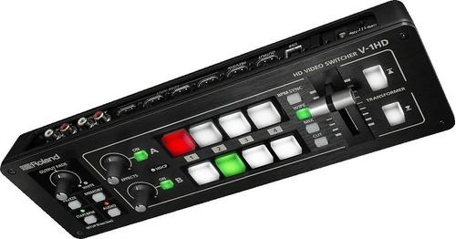 Switcher Mezclador De Video Roland V-1hd 4 Canales Hdmi