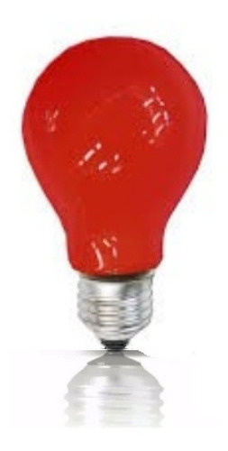 Bombillo Incandescente Rojo 130v E27
