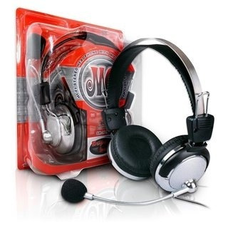 Fone Ouvido Stereo Com Microfone Pc Lan House Headphone