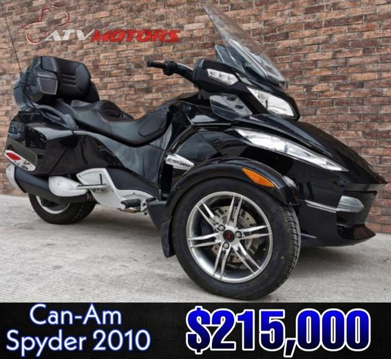 Can Am Spyder 1000 2010 Suspension Elka