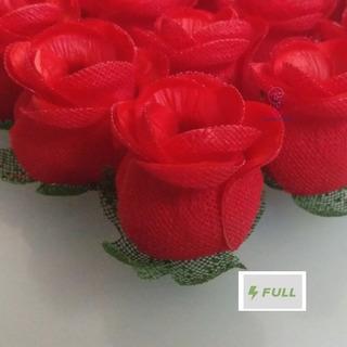 25 Forminhas Para Doces Finos Botao De Rosa Luxo Festas
