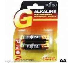 Pila O Batería Fujitsu Lr06 Aa Blister 2 Pilas Por Caja