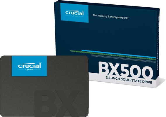 Hd Ssd Crucial Bx500 240gb Sata 6.0gb/s 2,5 Novo Lacrado