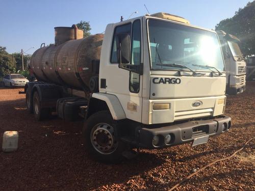 Caminhão Tanque Fibra Ford Cargo 2626 6x4 2004 R$ 150.000.
