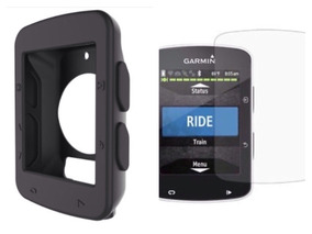 Capa Protetora Garmin Edge 520 + Película De Vidro