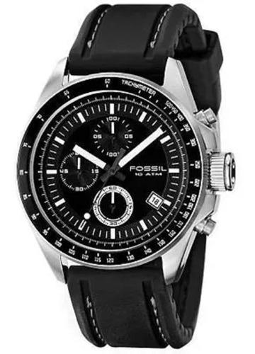 Relógio Fossil - Ch2573n - Chronograph - Rubber Strap