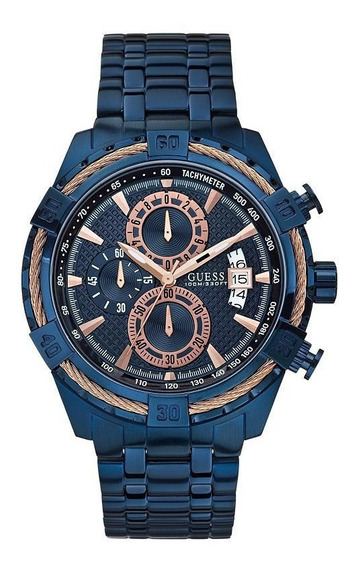 Reloj Guess U0522g3 Para Hombre Nuevo En Caja