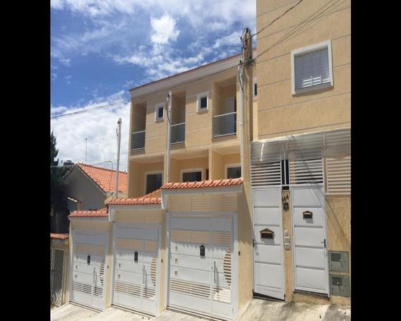 Sobrado Novo - 3 Dorm Sendo 1 Suite, 1 Vaga - 90m - Vila Nivi - V2471 - 34446932