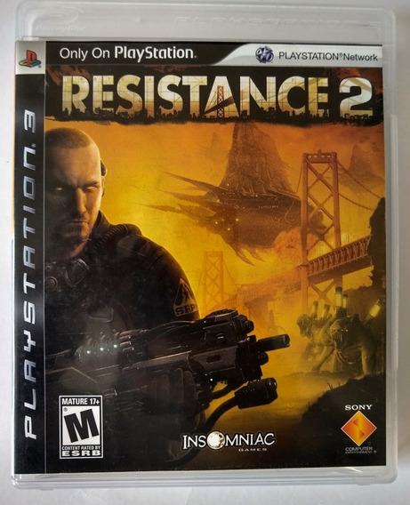 Jogo Resistance 2 - Ps3 - Mídia Física