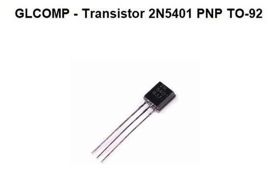 Transistor 2n5401 Pnp To-92 Kit C/ 100 Peças - Carta Reg.