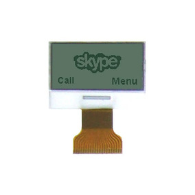 Display Lcd Gráfico 128x64 33x16mm Jhd508 Mp3 Gps Telefone