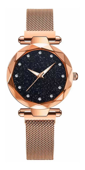 Reloj Dama, Acero, Rosa