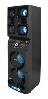Cabina De Sonido Fulltech 60w Usb/sd/bluetooth/aux/fm