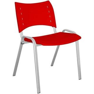 Cadeira Stillus Escritório Vermelha Multivisão