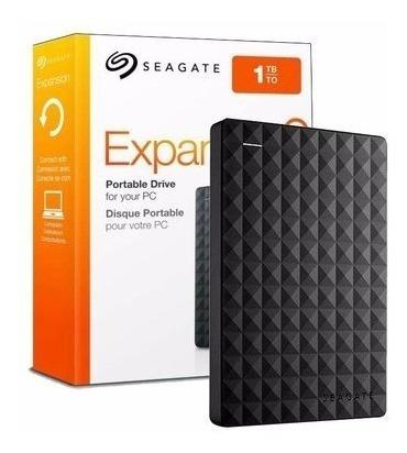 Hd Externo Portátil Seagate 1tb Usb 3.0