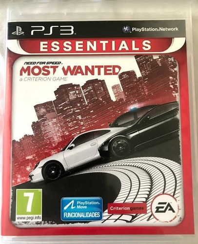 Juego Ps3 Need For Speed Most Wanted, Juego Físico