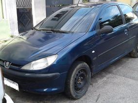 Peugeot Soleil 206 2 Portas Azul