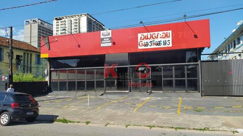 Imagem 1 de 11 de Galpão Para Alugar, 889 M² Por R$ 25.000,00/mês - Vila Matias - Santos/sp - Ga0147