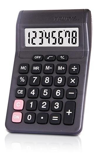 Calculadora De Mesa Truly 806a-8 8 Dígitos Preto
