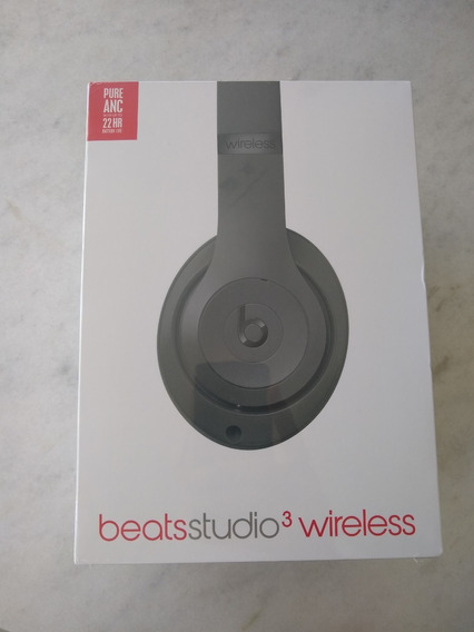Phone Beats Studio 3 Wireless Oportunidade!! Lacrado! Cinza!