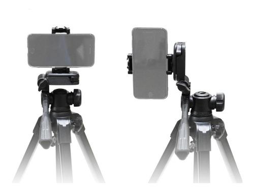 Imagen 1 de 10 de Tripode P/ Camaras Y Celulares Benro T660ex 145cm+ Adap Celu