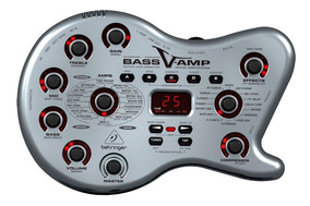 Pedaleira Processado Efeitos Baixo Behringer Bass V-amp Lx1b