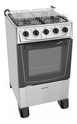 Cocina Punktal Combinada Inox Mod Pk-6617 Moderna Albion
