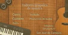 Clases De Canto, Guitarra,bajo, Teclado Ciudad De La Costa