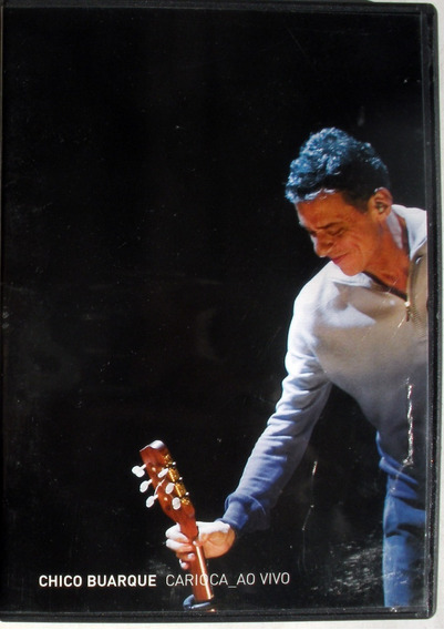 Dvd - Chico Buarque - Carioca Ao Vivo - Booklet
