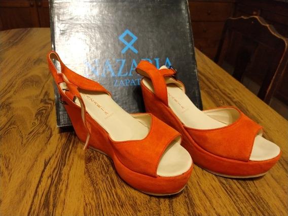 Nazaria Sandalias Zapatos Coral Mujer Off!