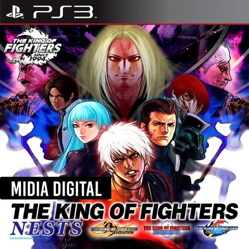 The King Of Fighters Nests Kof 99 2000 2001 - Ps3 Psn*
