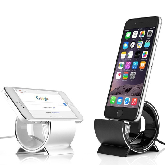Apple Dock Sinjimoru Black Aluminum Sync Stand iPhone