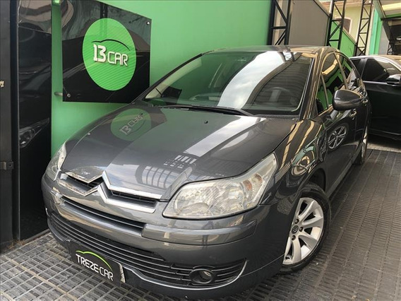 Citroën C4 1.6 Glx Flex 4p Manual - Couro