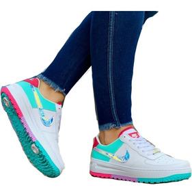 Zapatillas Deportivas Nike Forcé One Para Ellas!tallas 35-40