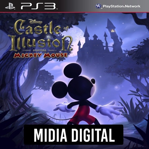 Mickey Mouse Castle Of Illusion - Ps3 Psn*