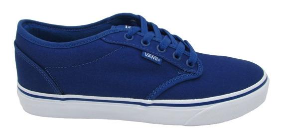 Tenis Vans Atwood Canvas Vn000xb0f9n Stv Navy White Azul