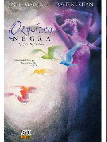 Orquidea Negra Edição Definitiva  Lacrada Neil Gaiman