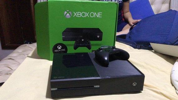 Xbox One 500gb Tres Jogos , Um Controle , Excelente Estado